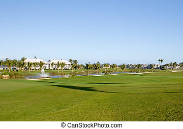 高尔夫球场, condos