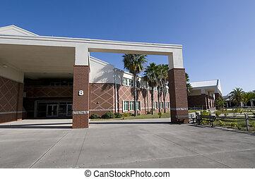 高校, 中に, フロリダ