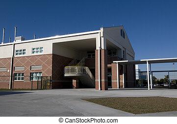 高校, 中に, メルボルン, フロリダ