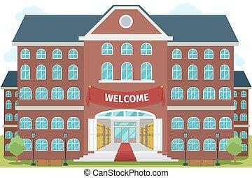 高校, 歓迎