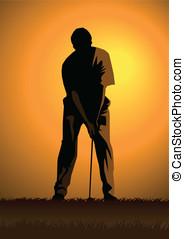 高爾夫球運動員