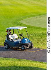 高爾夫球 推車