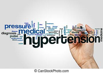 高血圧, 単語, 雲