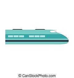 高速火車, 圖象