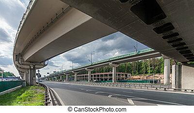高速道路, 跨線橋