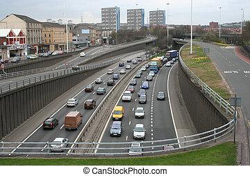 高速道路, 都市