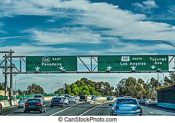 高速道路, 101, 交通