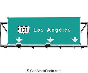 高速道路, los, 101, アンジェルという名前の人たち