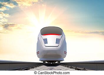 高速 列車, 現代, 鉄道