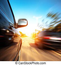 高速, 汽車