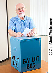 高階人, 由于, 投票箱