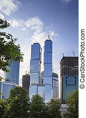高, 現代, 摩天樓