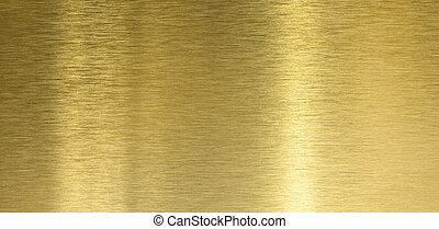 高, 質量, 拉過絨, 黃銅, 結構, 由于, 光, 反映