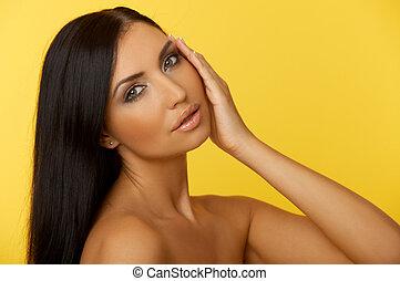 ∥髪をした∥, 黒, 美しさ