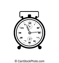 鬧鐘, 矢量, 插圖