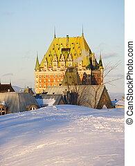 魁北克城市, 里程碑, 别墅frontenac