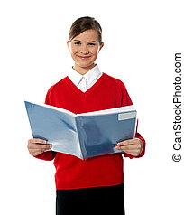 魅了, 学校本, 読書, 子供