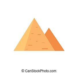 魅力, ピラミッド, 古代, 有名, エジプト人