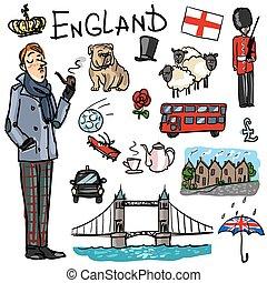 魅力, 旅行する, -, イギリス\