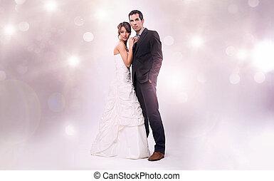 魔力, 相片, 風格, 工作室, 婚禮