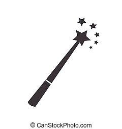 魔法の 細い棒, アイコン