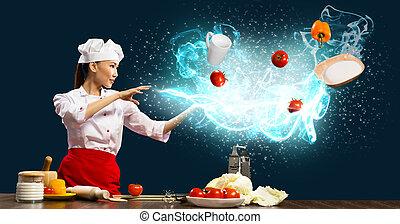 魔術, 廚房