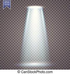 魔術, 投射, 輕的效果, 矢量, spotlight.