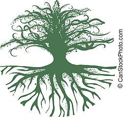 魔術, 摘要, 樹, rund