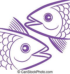 魚座, 黄道帯, -, サイン