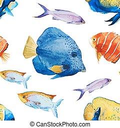 魚, すてきである