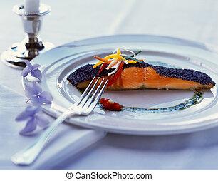 鮭, フィレ