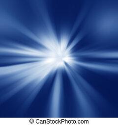 鮮艷, 光的光線