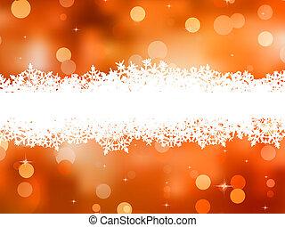 鮮艷, 聖誕節, 由于, 模仿, space., eps, 8