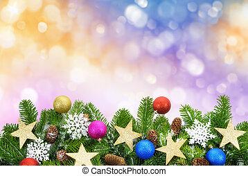 鮮艷, 聖誕節, 背景