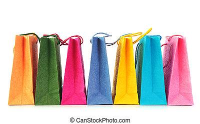 鮮艷, 袋子, 購物