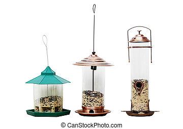鳥の送り装置
