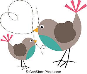 鳥, 小鳥