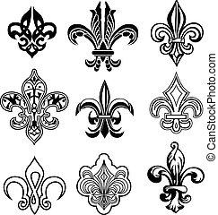 鳶尾花形的紋章, 新奧爾良