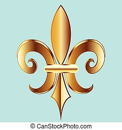 鳶尾花形的紋章