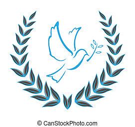 鴿, 花冠