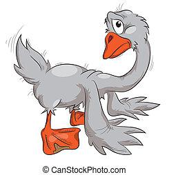 鵝, 悲哀