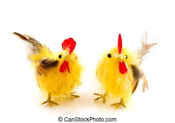 鶏, イースター
