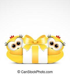 鶏, 贈り物