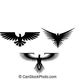 鷹, 紋身