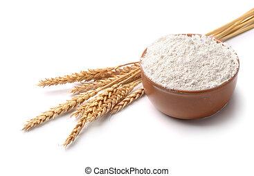 麵粉, 小麥