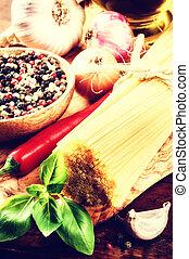 麵食, 新鮮, 成分, 意大利語