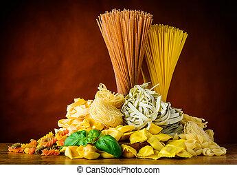 麵食, 類型, 意大利語