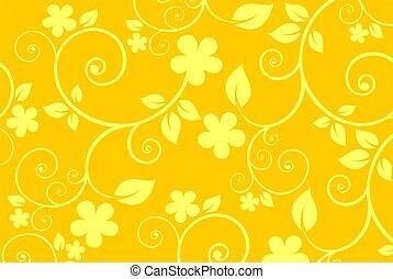 黃的花, 背景