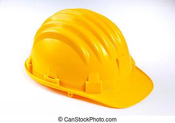 黃色堅硬帽子, 在懷特上