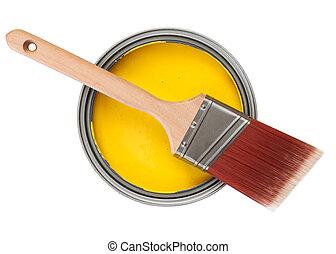 黃色的染料